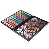 ACEVIVI Professional 120 Natural Rainbow Colors Eye Shadow Combination Pallet Women Cosmetics Set Eyeshadow Makeup Palette Matte Shimmer