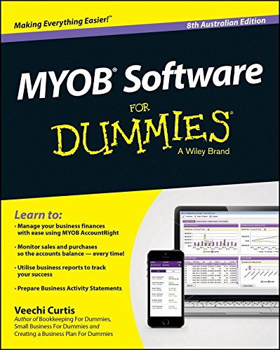 myob-software-for-dummies-australia-by-author-veechi-curtis-published-on-july-2015