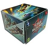 Star Realms: FLIP Box, Includes MERCENARY GARRISON Promo Card -Holds An Entire Set!