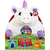 Pop Out Pets Fantasy, Reversible Plush Toy, Get 3 Stuffed Animals in One - Unicorn, Dragon & Phoenix, 8 in.