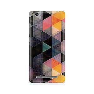 Ebby Random Hex Premium Printed Case For Xiaomi Redmi 3s