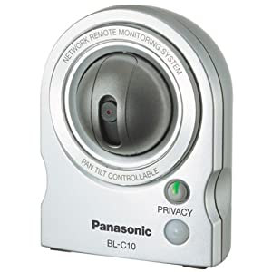 Panasonic Remote Video Monitoring Webcam and Pet Cam BL-C10A