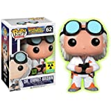 Funko Back to the Future POP! Doc Brown Exclusive Glow In Dark Variant
