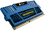 Corsair Vengeance Blu 8 GB PC3-12800 1600mHz DDR3 240-Pin SDRAM Dual Channel Memory Kit for Intel and AMD Platforms CMZ8GX3M2A1600C9B