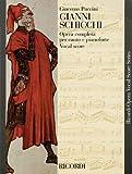 Gianni Schicchi Vocal Score (English/Italian) - new art cover (Ricordi Opera Vocal Score)