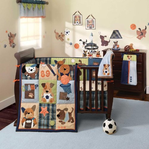 The Baby Crib Bedding Bedding Set For Boy Bow Wow