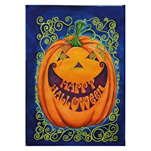 Toland Home Garden 102542 Happy Halloween House Flag