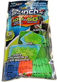 Zuru Bunch O Balloons 100 Balloons (Blue Orange Green)