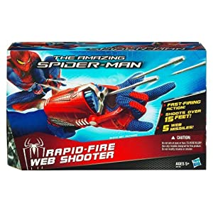 Hasbro The Amazing Spider-Man Rapid-Fire Web Shooter (Glove Not Included)