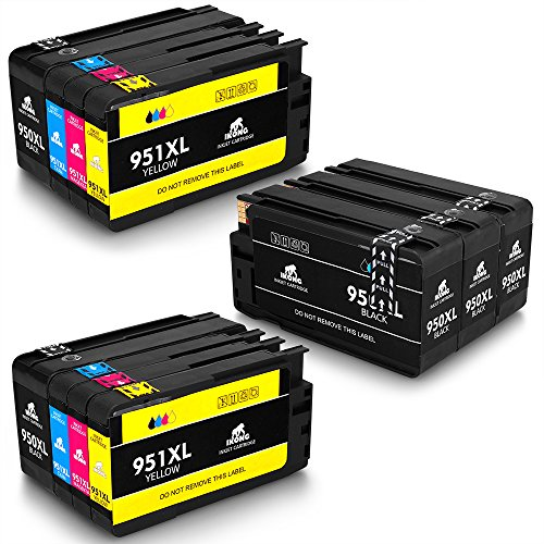 ikong compatible replacement for hp 950xl 951xl ink cartridges one set works with hp officejet. Black Bedroom Furniture Sets. Home Design Ideas