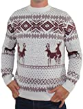 Ugly Christmas Sweater - Reindeer Games Sweater by Tipsy Elves - X-Large
