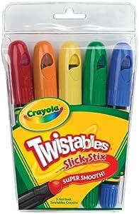 Crayola 5 Count Twistables Slick Stix