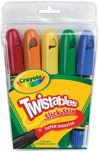 Review - Crayola Slick Stix