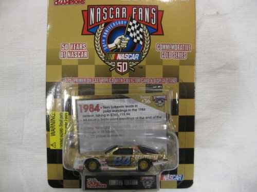 "NASCAR Legends 50 Years ""1984"" Issue No. 36 Racing Champions LE Die-Cast Collectibles 1:64 Scale - 1"