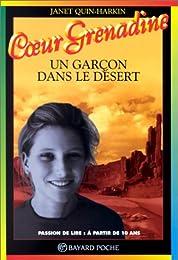 Un  garçon dans le désert