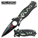 Tac Force TF-707GN Assisted Opening Folding Knife 4.5-Inch Closed