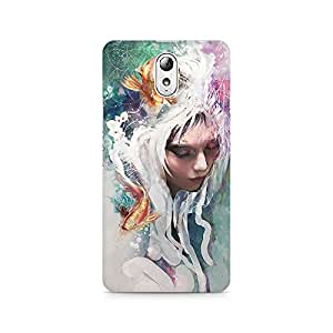 Mobicture Pattern Premium Printed Case For Lenovo Vibe P1M