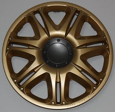 Radkappen/Radzierblenden 16 Zoll NASCAR GOLD von octimex bei Reifen Onlineshop
