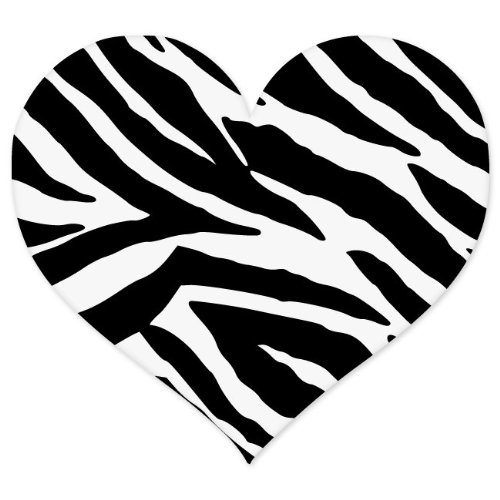 Colorful animal print hearts - photo#10
