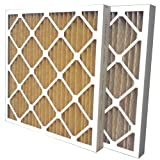 """US Dwelling-place Filter SC60-16X20X2 MERV 11 Pleated Air Filter (Pack of 6), 16"""" x 20"""" x 2"""""""