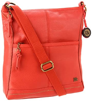 The SAK Iris 104118 Cross Body,Cayenne,One Size