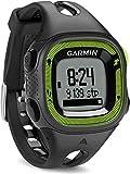 Garmin Forerunner 15 GPS Running con Funzione Contapassi, Misura Small, Nero/Verde