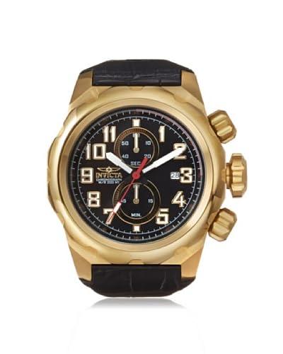 Invicta Men's 15069 Pro Diver Black Genuine Leather Watch