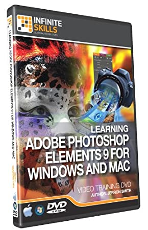 Photoshop Elements 9 Training Video - Tutorial DVD (PC and Mac)