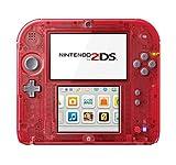 Nintendo 2DS System Crystal Red ニンテンドー2DS クリスタルレッド【北米版】