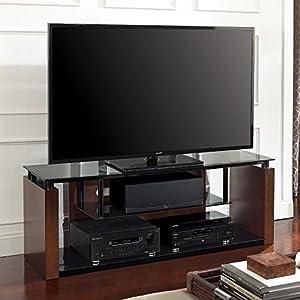 Bell'O AVSC2061E AV Stand Holds Up To 65-Inch TVs (Expresso)
