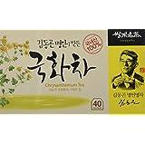 Organic Chrysanthemum Floral Tea Korean 40 Tea bags, Eyes, Insomnia, Fever