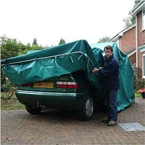 Folding Garage (Cars up to 16ft): Amazon.co.uk: Garden ...