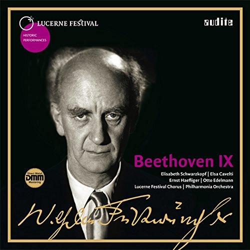 ベートーヴェン : 交響曲 第9番 ニ短調 Op.125 「合唱付き」 (Lucerne Festival ~ Beethoven IX (Symphony No.9) / Wilhelm Furtwangler | Philharmonia Orchestra | Lucerne Festival Chorus) [2LP] [輸入盤] [日本語帯・解説付] [Live Recording] [Analog]