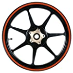 Orange 16 to 19 inch Motorcycle, Scoo...