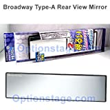 Broadway Type-A Flat Wide 240mm Rear View Mirror