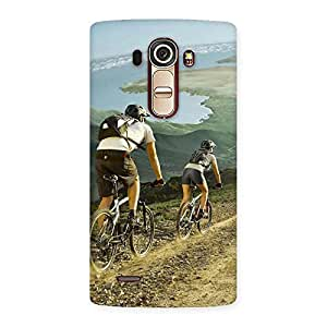 Enticing Bycycle View Back Case Cover for LG G4