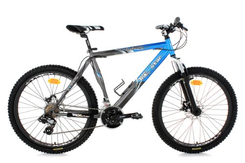 KS Cycling Erwachsene Fahrrad Mountainbike Hardtail Gravity RH 51 cm, Blau, 26 Zoll, 118B
