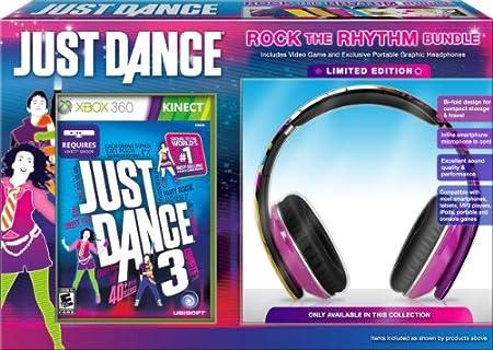 Just Dance 3 Rock the Rhythm Bundle