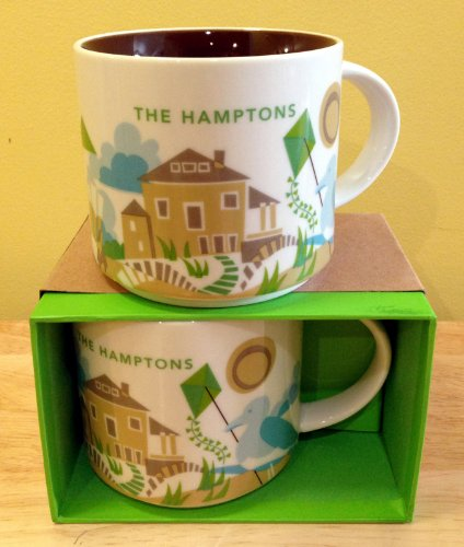 Starbucks You Are Here Collection Mug Hamptons, 14 Fl Oz