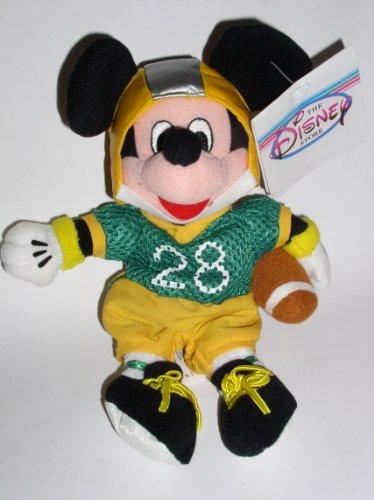 Disney Theme Park Exclusive Football Mickey Bean Bag