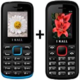 I KALL (K11 Blue+K55 Red) Set Of Two Mobile Combo