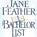 The Bachelor List: Duncan Sisters, Book 1 (       UNABRIDGED) by Jane Feather Narrated by Angele Masters