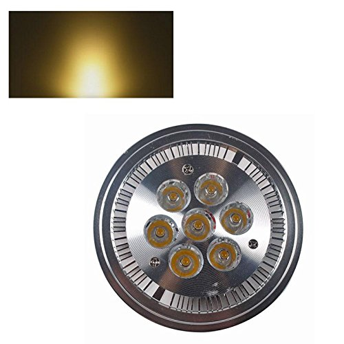 Ar111 G53 14W 7*2W Warm Pure White Led Ceiling Light Lamp Spotlight Ac/Dc 12V Fashion Partical