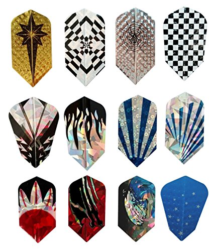 Buy Bargain 10 Sets/30 Pcs Slim Dart Flights Sets Brand New Long Life Wholesale 2D Aluminum Laser Bl...