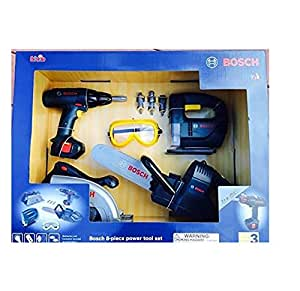 Bosch 8 piece power tool set toys games for Gardening tools 94 game answers