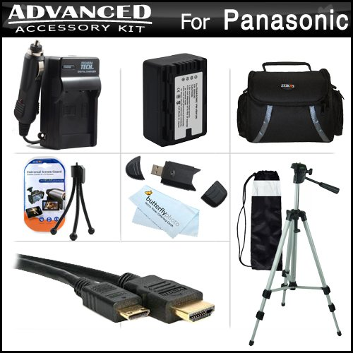 Advanced Accessories Kit For Panasonic HDC-TM90K