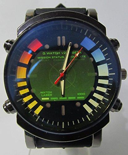 Hot Item Current Golden Eye Blueish Glass Awesome Logo Custom Printed Sports Wrist Watch