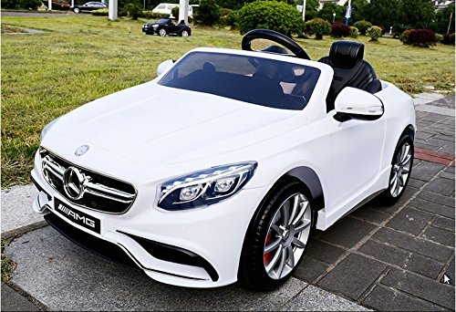 mercedes ride on toy car for kids 12 volts remote control battery operated