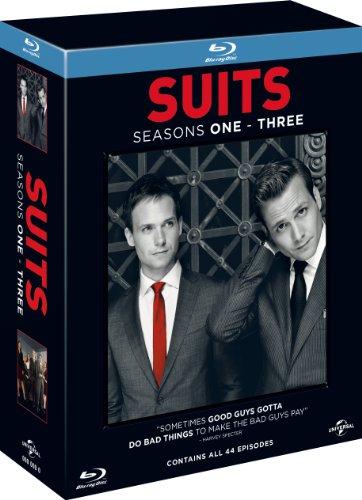 Suits - Season 1-3 [Blu-ray] [region free] (inport)