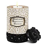Modeles Cherish Dream Live Cylinder Tea Light Candle Holder By Pavilion Gift